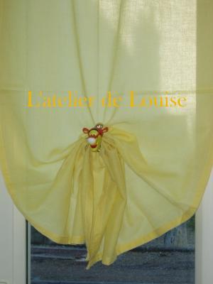 attache rideau tigrou l 39 atelier de louise. Black Bedroom Furniture Sets. Home Design Ideas